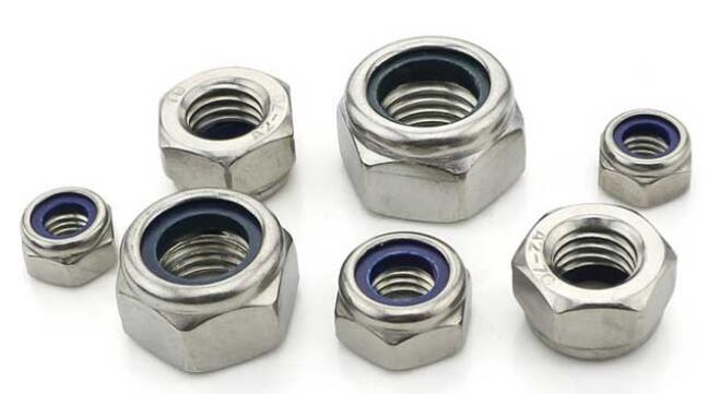 Stainless Steel Nylon Insert Lock Nut DIN985 DIN982