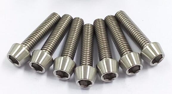 Titanium DIN912 Hex Socket Cap Screw
